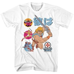 Masters Of The Universe - Mens He-Man Japan T-Shirt