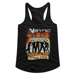 Nsync - Womens No Strings No Words Racerback Top
