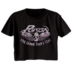 Poison - Womens Old School Rock N Roll T-Shirt