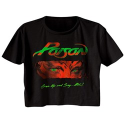 Poison - Womens Open Up And Say Ahh T-Shirt