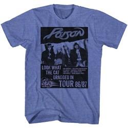 Poison Mens Look What Tour T-Shirt
