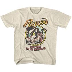 Poison - Unisex-Child Lwtcdi T-Shirt