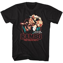 Rambo - Mens 1St Blood Part Ii T-Shirt