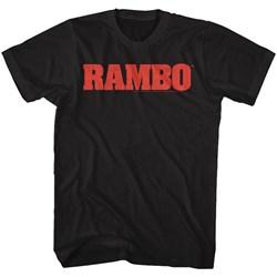 Rambo - Mens Rambo Logo T-Shirt