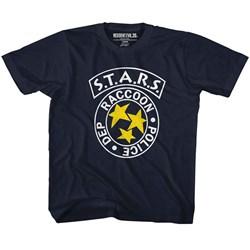 Resident Evil - Unisex-Child Rpd Stars T-Shirt
