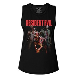 Resident Evil - Womens Monsterhits Muscle Tank Top