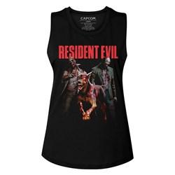 Resident Evil - Womens Monsterhits Muscle Tank Top