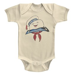 The Real Ghostbusters - unisex-baby Stay Puft Head Onesie
