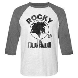 Rocky - Mens Italian Stallion Baseball Tee