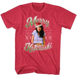 Saved By The Bell - Mens Merry Kapowski T-Shirt