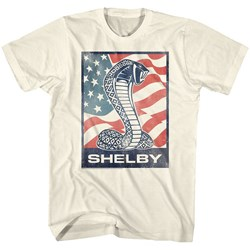 Carroll Shelby - Mens Flag Snake T-Shirt