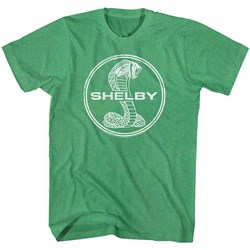 Carroll Shelby - Mens Circle Monochrome T-Shirt
