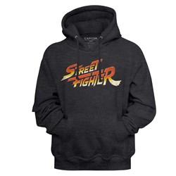 Street Fighter - Mens Logo Hoodie