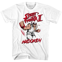 Street Fighter - Mens Hadoken T-Shirt