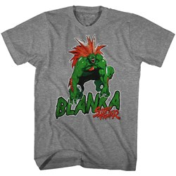 Street Fighter - Mens Blanka T-Shirt