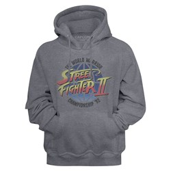 Street Fighter - Mens World Warrior Hoodie