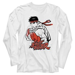 Street Fighter - Mens Ryu Red T-Shirt