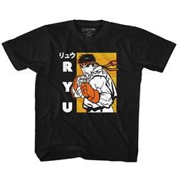 Street Fighter - Unisex-Baby Ryu T-Shirt