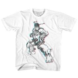 Street Fighter - Unisex-Baby Glitch Fighter T-Shirt