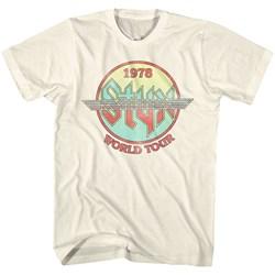 Styx - Mens Circle Tour T-Shirt
