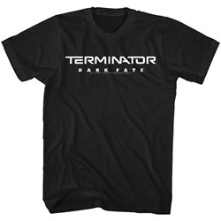 Terminator Dark Fate - Mens Dark Fate Logo T-Shirt