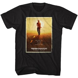 Terminator Dark Fate - Mens Dark Fate Poster T-Shirt