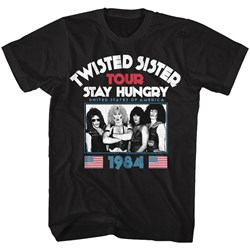 Twisted Sister - Mens Stay Hungry T-Shirt