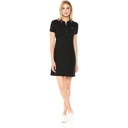 Lacoste Womens Short Sleeve Pique Polo Dress