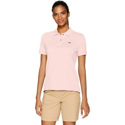 Lacoste Womens Short Sleeve Classic Fit Pique Polo