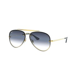 Ray-Ban - Unisex-Adult Blaze Aviator Sunglasses