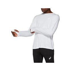 Asics - Mens Silver Long Sleeve Knit Pullover