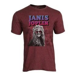 Janis Joplin - Mens Rose Colored Glasses T-Shirt