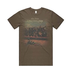 Neil Young - Mens Time Fades Away T-Shirt
