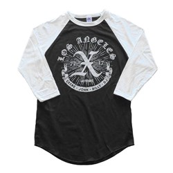 X - Mens 40 Years Bbj 3/4 Sleeve T-Shirt