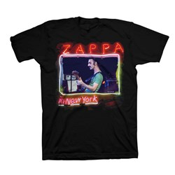 Frank Zappa - Mens In New York T-Shirt