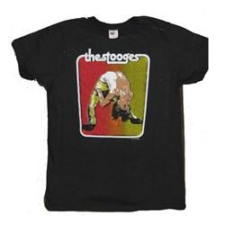 Iggy Pop - Mens Backbend Bootleg T-Shirt