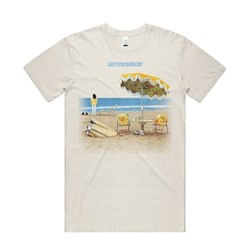 Neil Young - Mens On The Beach T-Shirt