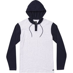 RVCA Mens Pick Up Knit Long sleeve Hoodie