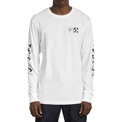 RVCA - Mens Hazard Long Sleeve T-Shirt