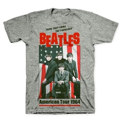 The Beatles - Mens American Tour 1964 T-shirt