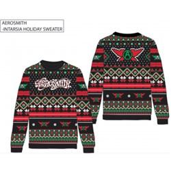 Aerosmith - Unisex-Adult Aero Holiday Sweater