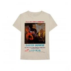 David Bowie - Mens Japanese Text T-Shirt