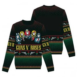 Guns N Roses - Unisex-Adult Gnr Holiday Sweater