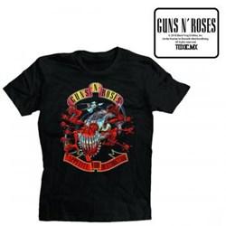 Guns N Roses - Mens Afd Avenger Banner T-Shirt