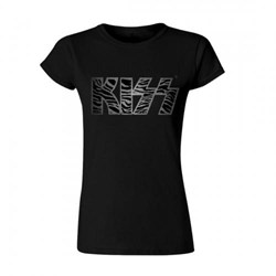 Kiss - Womens Zebra Logo T-Shirt