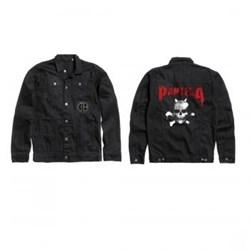 Pantera - Unisex-Adult Skull Denim Jacket