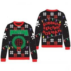 Pantera - Unisex-Adult Pantera Holiday Sweater