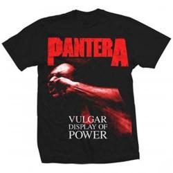 Pantera - Mens Red Vulgar T-Shirt