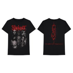 Slipknot - Mens We Are Not Your Kind Red/Grey T-Shirt