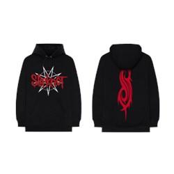 Slipknot - Unisex-Adult Star Crest Logo Hoodie